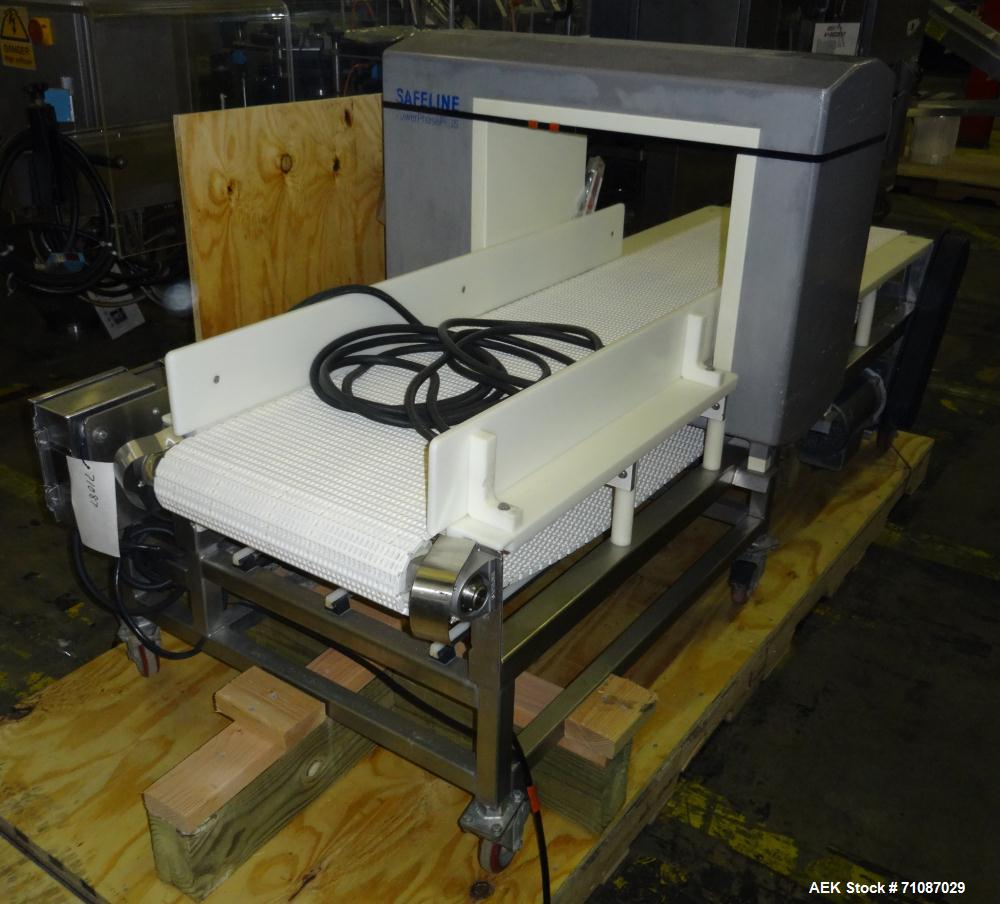 """Used-Safeline (Mettler-Toledo) Model PowerPhase Plus Metal Detector.  Aperature  20"""" Wide x 16"""" Tall, with 14.5"""" useable Hei..."""