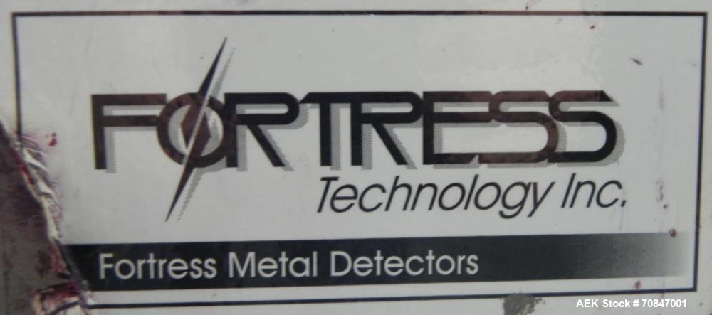 "Used- Fortress Technology Model Phantom Metal Detector. Has stainless steel Body Only. Aperture size approximate 24"" wide x ..."