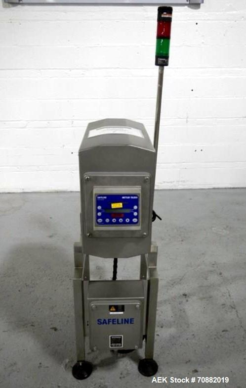Used- Safeline PowerPhase Plus Metal Detector