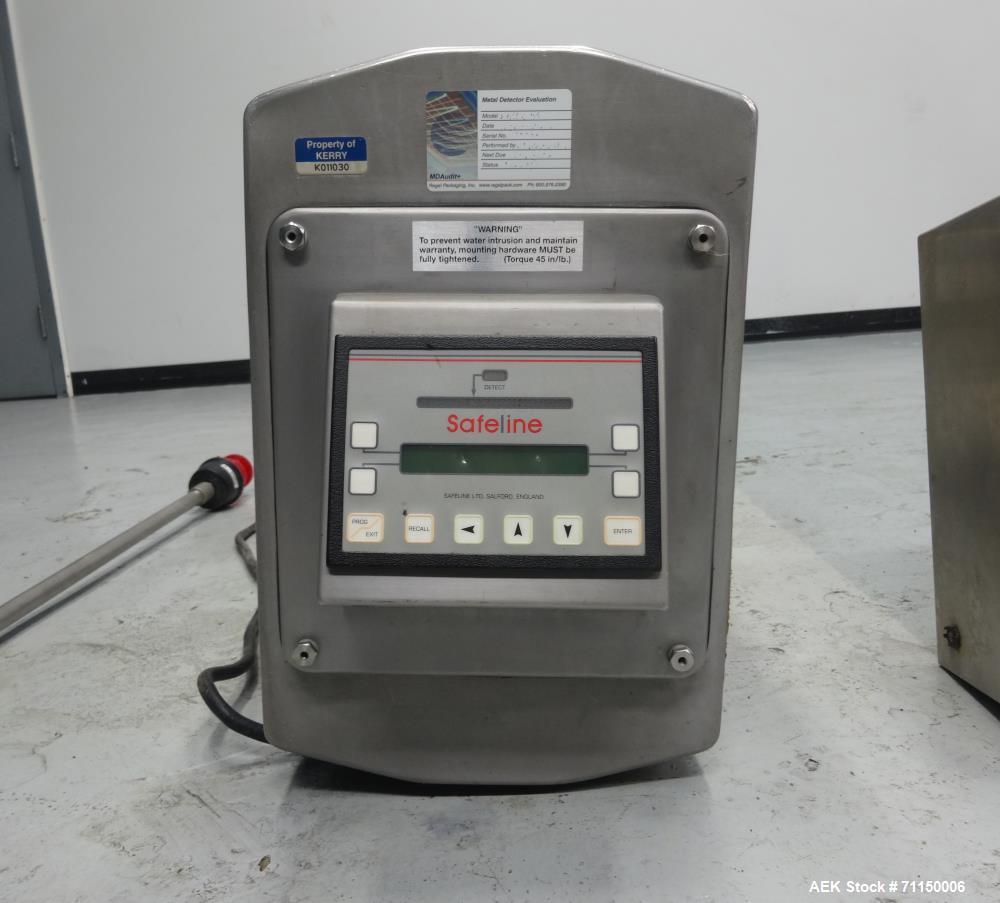 Used- Safeline Model V1 Metal Detector Head