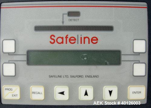 Used- Safetronics metal detector control panel. Last used on a model ZMFZ225 SS/HD/25 RM.