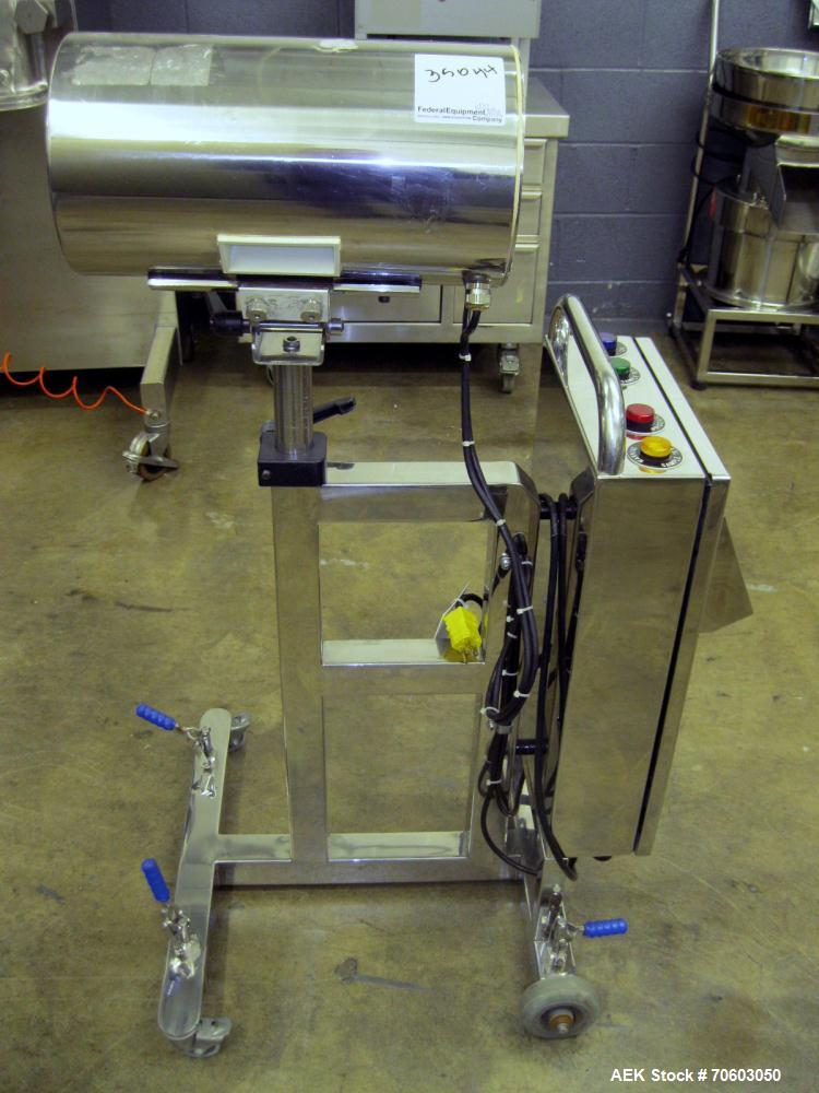 "Used- Lock Metal Detector, Model MET 30+, 3.75"" x 1.5"" opening with reject, serial #3263/2, part #3263, new 2000."