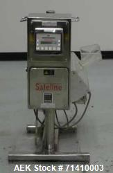 Used- Safeline Model Pharm XS/95 X 38/55 Tablet Metal Detector