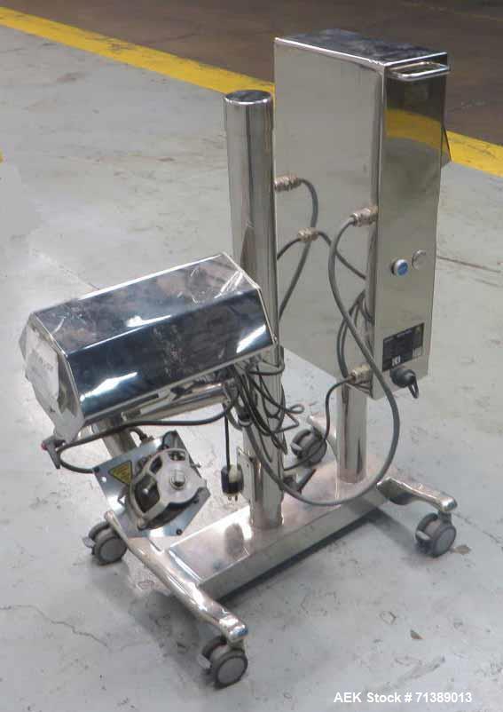 Used- Mettler Toledo Safeline Model 25 Tablet Metal Detector
