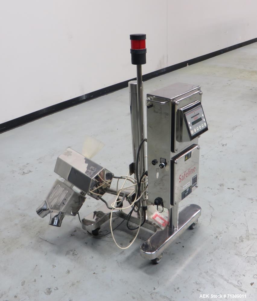 Used- Safeline Capsule Metal Detector.