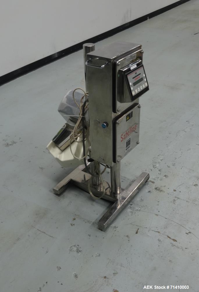 Used- Safeline Model Pharm XS/95 X 38/55 Tablet Metal Detector
