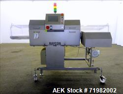 Used-Sesotec Raycon X-Ray Food Inspection System, Type 450/100 US-INT 50.  Serial # 11422018372-X.  Has an integrated convey...