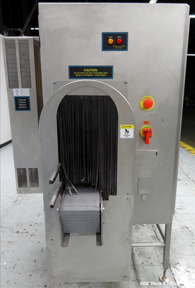Used- Smiths Heimann Eagle Tall IP65 X-ray Metal Detector