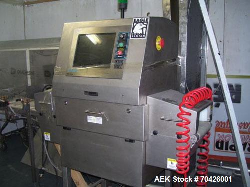 """Used-Smiths Heimann Eagle Bantam MK2 X-Ray Inspection System with reject system. 9"""" Wide x 4"""" tall opening. Manufactured 200..."""