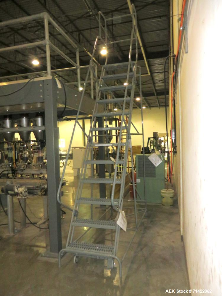 Used- Cotterman Ladder With Platform