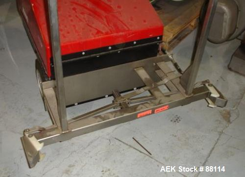 Used- Dane Quickart 2000 Power Assist Shopping Cart Collector,