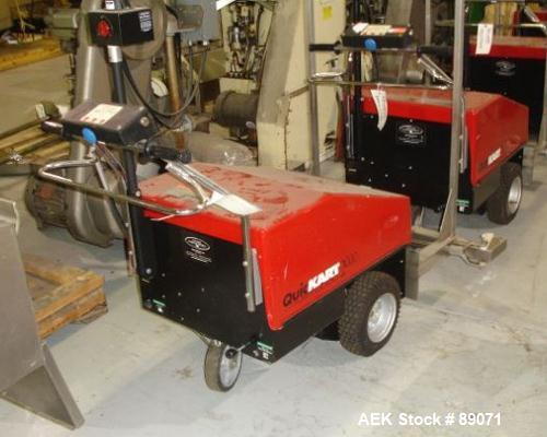 Used- Dane Quickart 2000. Power assist shopping cart collector