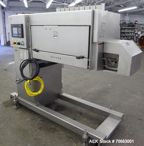 Used- Grote Model S/A-530 Single Lane Slicer/Applicator. Machine is rated at up to 176 strokes per minute per lane. Unit als...