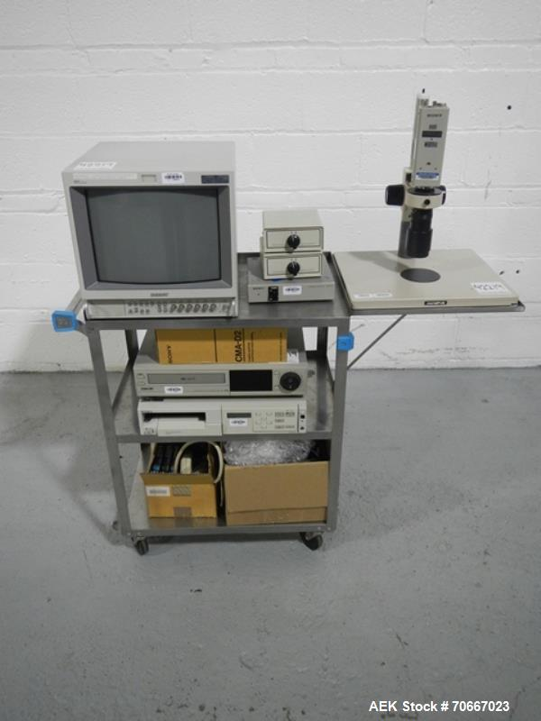 Used- Sony Hyper HAD CCD-IRIS/RGB Color Video Camera, Model DXC-151A