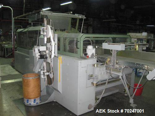 Used-Horauf BDM 60 Universal Case Maker equipped with automatic feeder, gyratory control panel, gluing station, quick change...