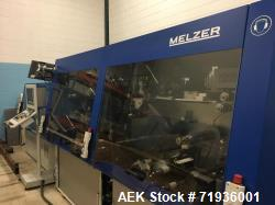 Used- Melzer Smart Ticket/Label Production Line, Model STL-L100. UHF/HF Transponders. Transponder reel diameter - up to 400 ...