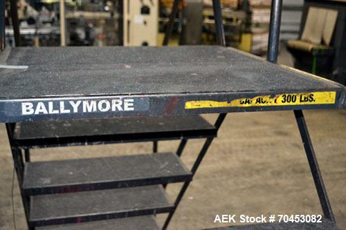 Used- Carbon Steel Ballymore Packaging Line Walk & Cross Over Stairs