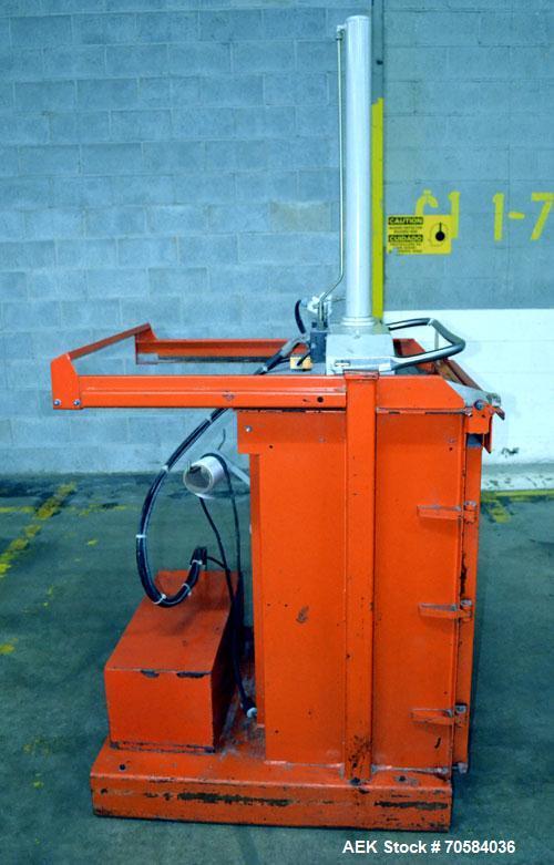 Used- Orwak Model 5010 Automatic Top Load Baler