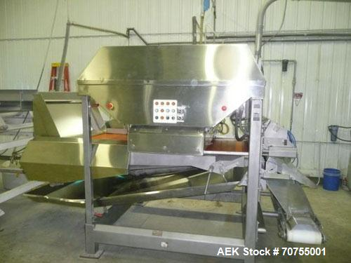 "Used-SRC Vision Color Sorter, Model G5.  48"" Belt width, has 4 cameras - 2 side by side facing forward and 2 facing to the r..."