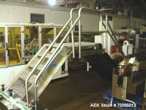 Used- Sterling Process Egineering Packaging Line Overpass Stairs