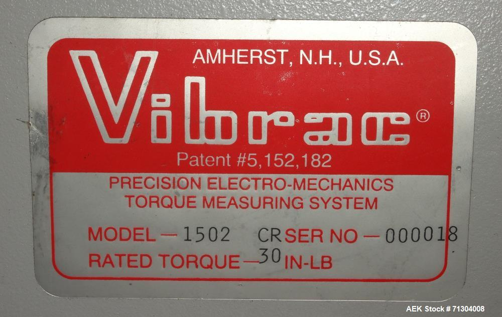 "Used- Vibrac Model 1502 CR ""Torqo"" Electronic Torque Tester"