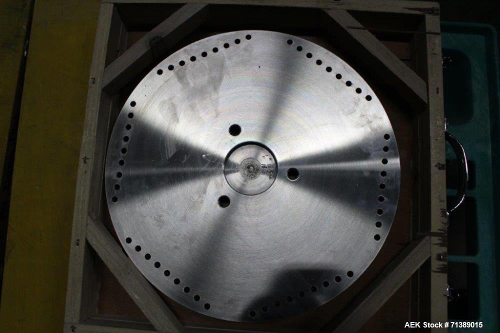 Used- Vanguard Model VAF-1200C Capsule Filler Change Parts, Size #1