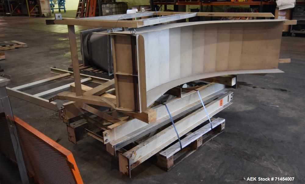 Used- Packaging Systems International 2200 Automatic Bag Palletizing System and