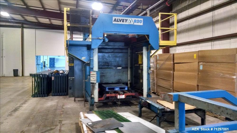 Used- Alvey 920 High Speed Case Palletizer