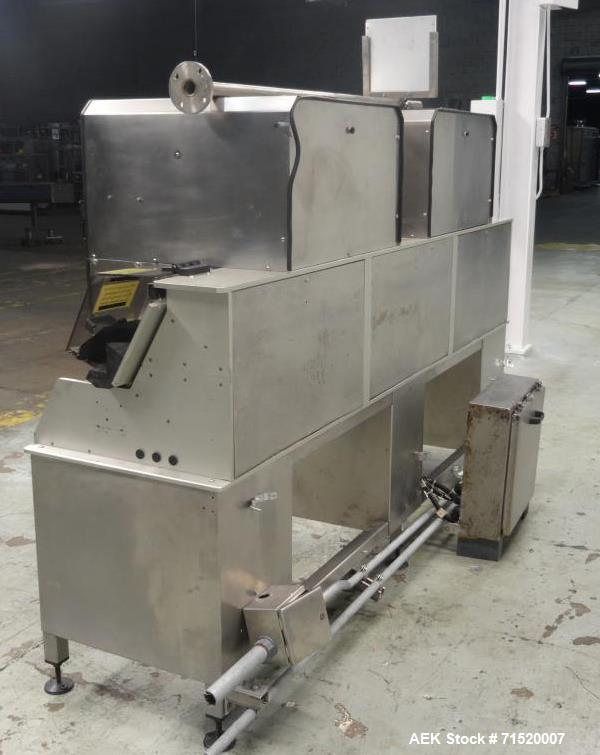 Used- Dabrico Model DI-200LT Dual Station Vial Inspection System