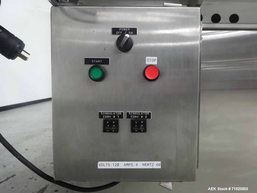 Used- Dabrico Inc. Model DI-100 Vial Inspection System