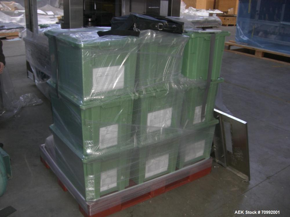 Used- Eisai type EIS 596 vial inspection machine