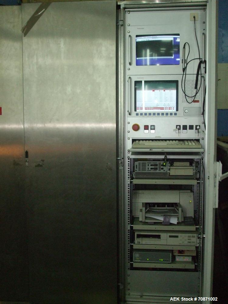 Used-Stainless Steel Seidenader PI 30 Ampoule Inspection Machine