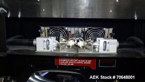 Used- Seidenader V 75-LR Semi-Automatic Vial  Inspection Machine