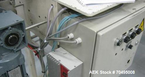 Used- Seidenader V 90 Semi Automatic Inspection Machine.