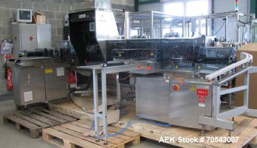 Used-Seidenader Model V90-AVSB 75LR Vial Inspection Machine