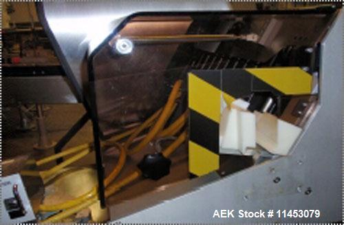 Used-Seidenader Inspection Unit, Model V90-AVSB/60-LR. Designed to inspect ampules, vials, syringes, bottles and tubes; 5-10...