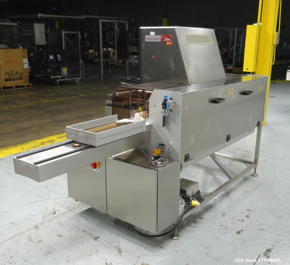 Used- Seidenader Model V90-AVSB/60-LR Visual Inspection System