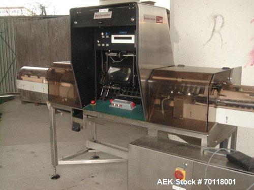 Used- Seidenader Model V90 AVSB Vial Inspection Machine. Machine is used for visual inspection of filled syringes. Can handl...