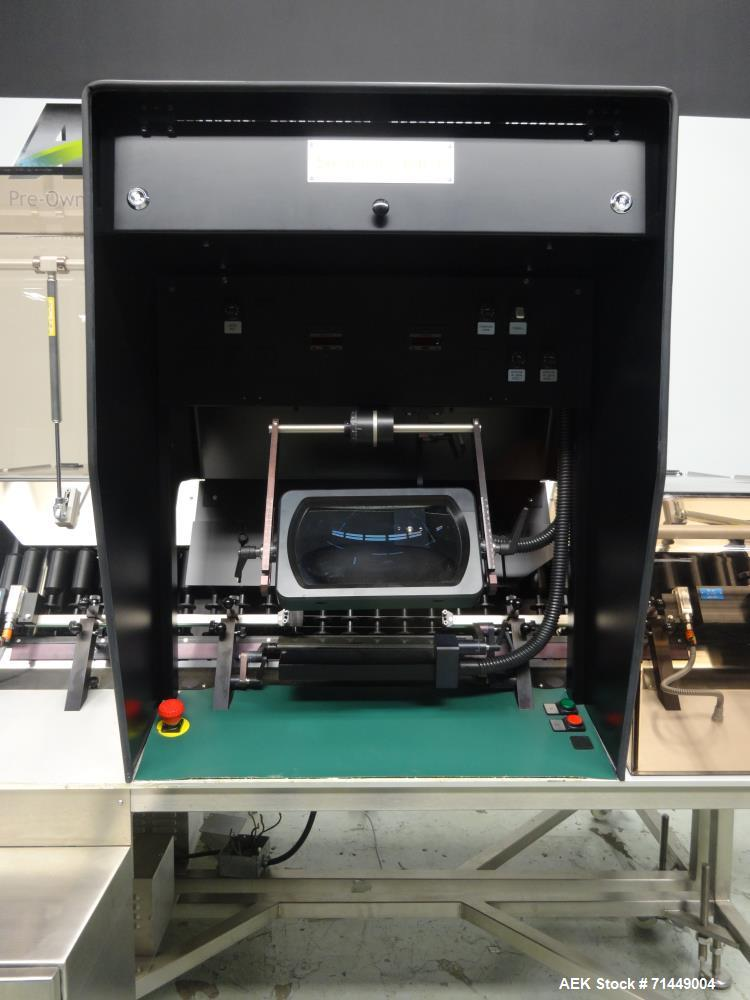 Used- Seidenader Model V90+ ASVR Back To Back Vial Inspection System
