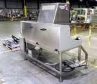 Used- Seidenader Model V90-AVSB/60-LR Vial Inspection Machine. Capable of speeds up to 150 objects per minute. Has starwheel...