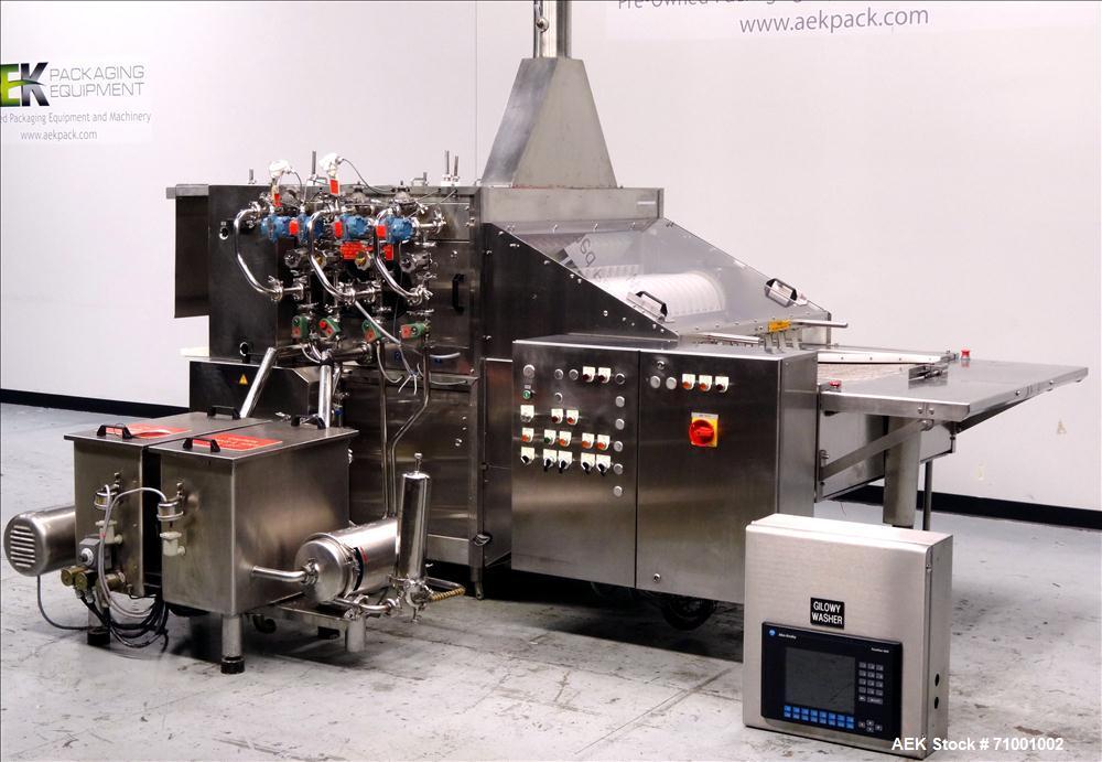 Used- Gilowy Model 12-016B Vial Washer
