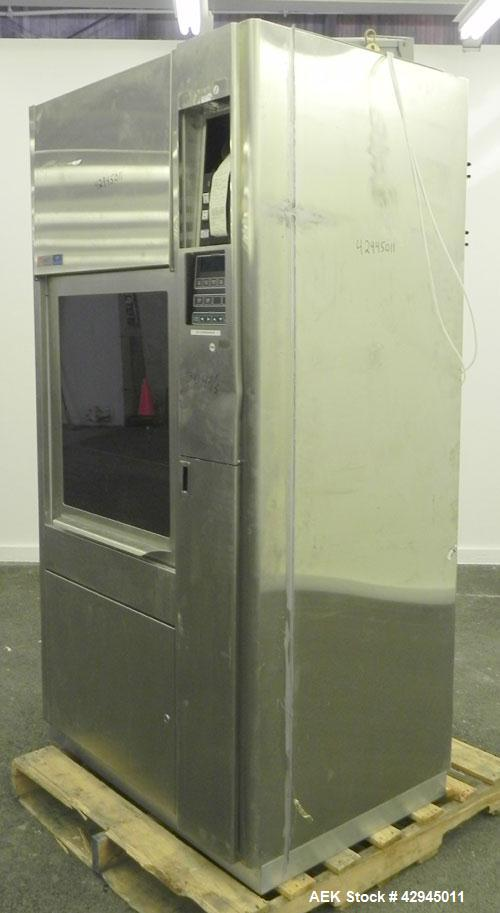 Used- Stainless Steel Amsco Laboratory Glassware Washer