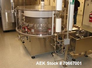 Used-Bosch RRN 2020 Vial Washer capable of speeds up to 130 vials per minute. Max Container Size:  Diameter up to 52 mm, Hei...