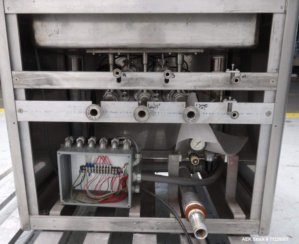Used- Cozzoli Model GW24 Batch Style Ampule and Vial Washer