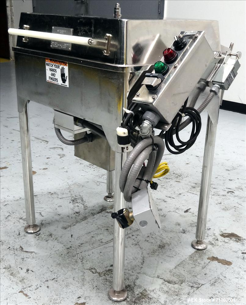 Used- Stainless Steel Metromatic Model 1418-SS Batch Style Vial & Ampule Washer