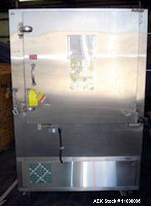 Unused- Gruenberg electrically heated, stainless steel, pharmaceutical oven, model L18H27.0SS. This oven is suitable for use...