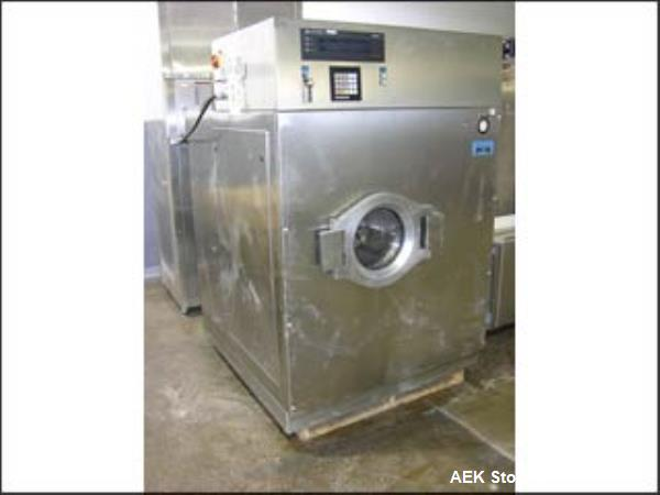 Used- Huber Stopper Washer, Model DS40. 316 stainless steel construction. 153 liter total, 37 liter working capacity. 690 mm...