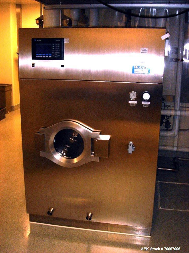 Used- Stainless Steel Huber Stopper Washer, Model DS 40
