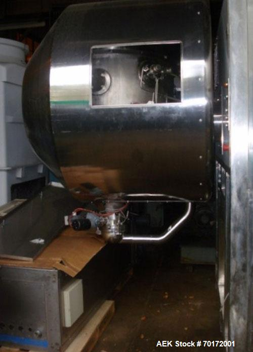 Used-Smeja Stopper Washer, model WSTB-SST-HTA-RTA-200AE-AB 5/25, 200 liter capacity, steam sterilization cycle, programmable...