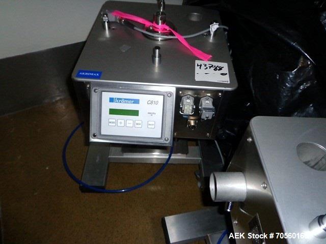 Used- Krammer tablet deduster, model E2000, serial# 3.710.
